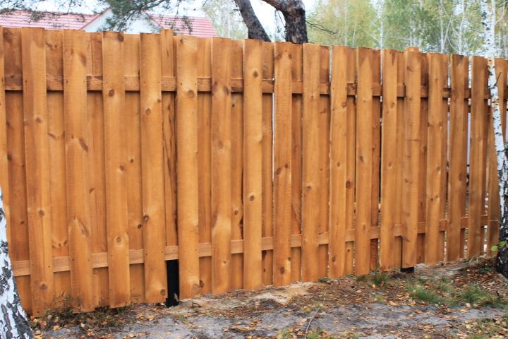 Забор из дуба своими руками 73